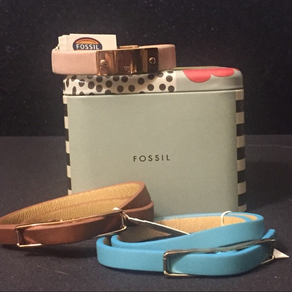 Fossil Jewelry - Fossil Leather Bracelets